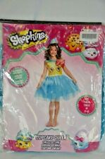 Shopkins Dress Up Costume Cupcake Queen Child Size M (7-8) NEW Halloween Party