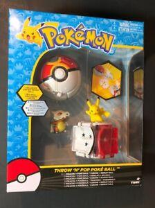 Pokemon Throw & Pop Pack [ Pikachu + Poke Ball + Cubone + Repeat ball ] NEW
