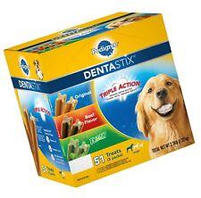 New listing Pedigree Dentastix Large Dental Dog Treats Variety: Chicken, Beef & Fresh