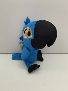 "Rio 2 Blu 8"" Sound Talking Plush Stuffed Animal Blue Doll JAKKS Pacific 2014"