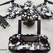 DJI Mavic Urban Digital Pixel Camo Camouflage Skin / Wrap / Decal, UK made
