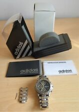 OROLOGIO ADIDAS CHRONOGRAPH SPORT WATCH STAINLESS STEEL CASE QUARZO A BATTERIA