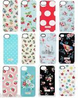 "CATH KIDSTON iPhone 4 / 4S and 5 / 5s Case ""Lattice Rose, Linen Sprig,Strawbery"""