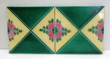 Art Nouveau Tile Set Antique Japen