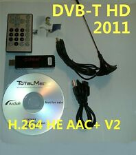New~ WIN7 64 Dongle USB DVB-T TV Mpeg4 +2 H.264 AAC+V2