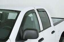 Vent Shade Visor 2007 - 2013 GMC Sierra Ext Cab Wind Deflectors