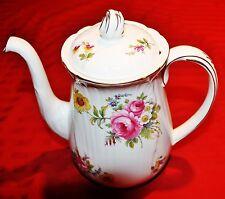 Shelley CHANTILLY (Oleander Shape) Coffee Pot