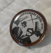 Ironworkers Local 444 Pin blues brothers