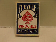 Bicycle Pinochle  Regular Index Blue Single Deck Playing Cards Air Cushion USPCC