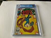 GHOST RIDER 78 CGC 9.8 WHITE PAGES COOL SKULL NIGHTMARE COVER MARVEL COMICS