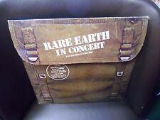 Rare Earth In Concert 2x LP Motown 1971 VG+