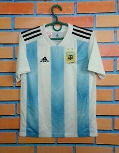 Argentina Jersey 2018 2019 Home Kids Boys 11-12 Shirt Adidas BQ9288