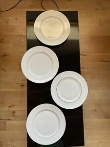 """Doulton St Andrews  Signature Platinum 4 x 10.5"""" DINNER PLATES"""