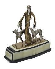 Otto Poertzel Vintage Aristocrats Borzoi Dogs  Sculpture