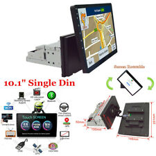 """10.1"""" 1Din Android 8.1 Quad Core Car Stereo Radio GPS Wifi Touch Screen ROM 16G"""