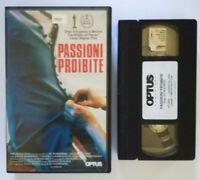 VHS Film Ita Drammatico PASSIONI PROIBITE marika lagercrantz ex nolo no dvd(V175