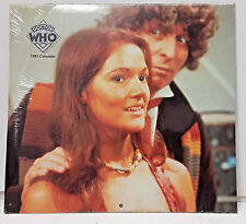 "1985 Doctor Who Calendar - 12"" x 11"" SEALED!"