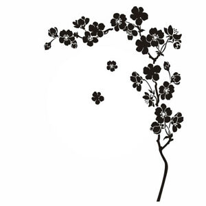 Cherry Tree Reusable Stencil A3 A4 A5 Sizes Shabby Chic Modern Style / F18