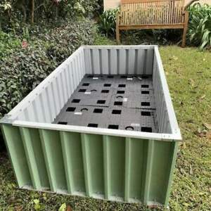 Oasis self-watering raised garden kit bed - drought resistant fruit & veg