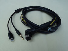 PIONEER IP-BUS 8-Pin LIGHTNING iPHONE 6S 6 5 AUX CABLE DEH-P7800MP DEH-P7900UB