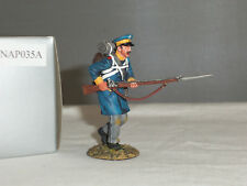 THOMAS GUNN NAP035A PRUSSIAN WESTPHALIAN GUARD CHARGING METAL TOY SOLDIER FIGURE