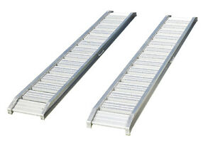 1800kg per pair Heavy Duty Aluminium Loading Ramps 3.2 Metre suit Mini Digger
