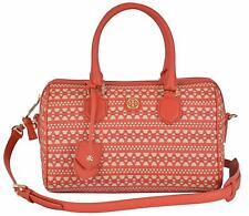 7401c42d47f NEW Tory Burch  695 Woven Leather Robinson Convertible Purse Handbag Satchel
