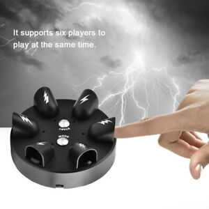 Electric Shock Lie Detector Polygraph Test Finger Toy Truth Party Table Game