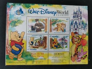 Canada 1996 Stamp Collecting Month Disney Winnie the Pooh SGMS1705. MNH.