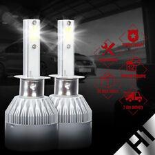 2PCS White 6000K High Power H1 60W 6400LM LED Headlight Kit Hi/Low Beam Bulbs