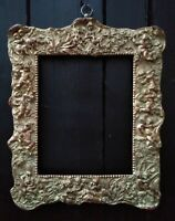 ART NOUVEAU style Gilt gesso Picture Mirror/Frame.