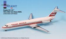 Inflight200 TWA Trans World Airlines Twin Stripe Douglas DC-9 1:200 Scale N929L
