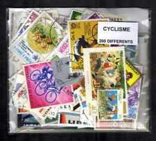 Cyclisme - Cycling 200 timbres différents oblitérés