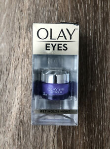 Olay Regenerist Retinol 24 Night Eye Cream 15 ML 0.5 Oz Damaged Box