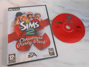 The Sims 2: Christmas Party Pack - PC-CD Rom Game Expansion Pack / Add on xmas