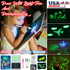 Draw With Light Fun And Developing Toy Drawing Board Magic Draw Educational Toy