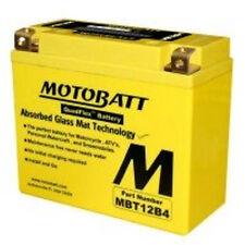 MotoBatt MBT9B4 AGM Sealed QuadFlex Tech Sport Motorcycle Replacement Battery