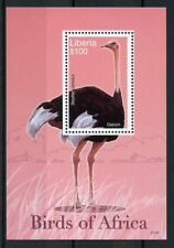 Liberia 2007 neuf sans charnière Birds of Africa autruche autruches 1 V S/S III timbres