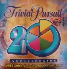 Jeu de société Trivial Pursuit 20ème anniversaire - Parker - Boîte usée