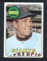 1969 Topps #370 Juan Marichal NM/NM+ Giants 125114