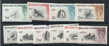 FALKLANDS 1960 BIRDS SET to 1/- *** FINE MINT *** cat. £30