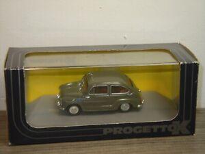 Fiat 600D Polizia Stradale 1960 - Progetto K PK158 - 1:43 in Box *39300