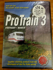 PROTRAIN 3 STUTTGART - MUNICH ~ MICROSOFT TRAIN SIMULATOR ADD-ON