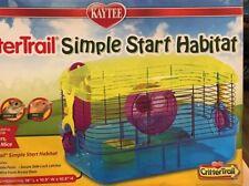 Kaytee Crittertrail Simple Start Habitat Hamsters Gerbils Mice New In Box