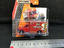 Matchbox Diecast Ford E350 Ambulance