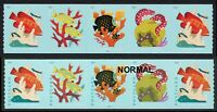 #5370a Coral Reefs PNC, AQUA COLOR OMITTED New Error as seen in Linn's 2/22/2021