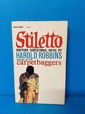 Stiletto Harold Robbins Mayflower Vintage Paperback