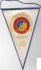 football PENNANT UEFA U-18 European under 18 cup championship 1966 66 Yugoslavia