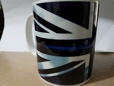 """THIN BLUE LINE"" Police UK 11 oz MUG - free delivery + 10% to COPS Charity V3"