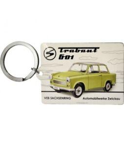 Schlüsselanhänger Trabant 601 mit DDR-Lexikon  (NEU & OVP)